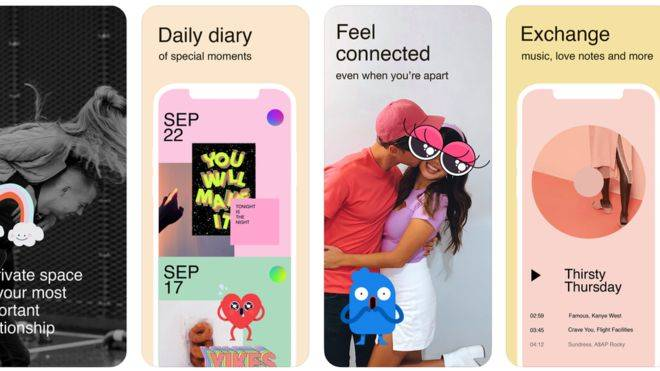 Facebook's new app for couples